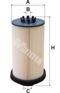 Фильтр топливный MFILTER DE 687