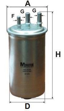 Фильтр топливный MFILTER DF679