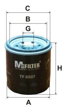 Фильтр масляный MFILTER TF6507