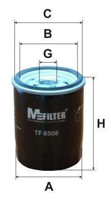 Фильтр масляный MFILTER TF6508