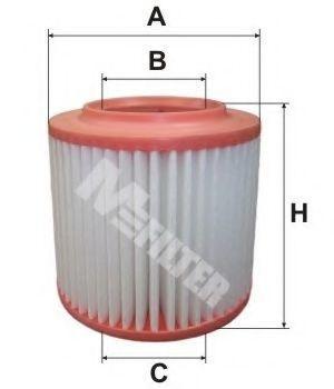 Фильтр воздушный MFILTER A8048