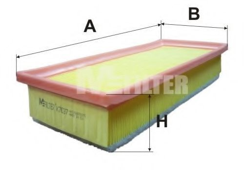 Фильтр воздушный MFILTER K7037