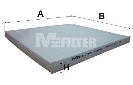 Фильтр салона MFILTER K 9093