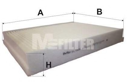 Фильтр салона MFILTER K 9095