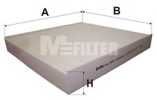 Фильтр салона MFILTER K9100