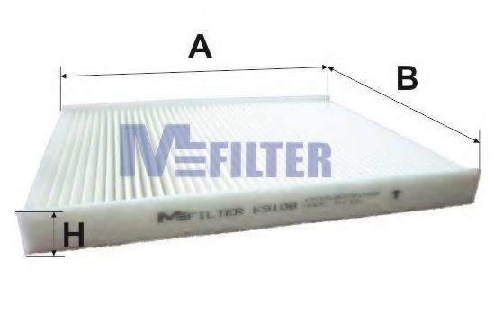 Фильтр салона MFILTER K 9108