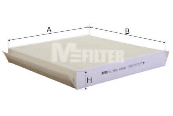 Фильтр салона MFILTER K930