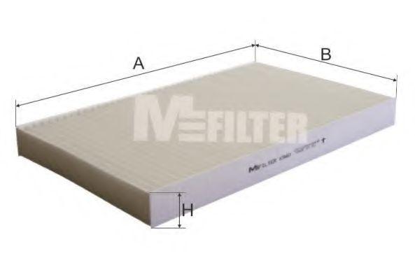 Фильтр салона MFILTER K940