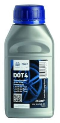 Тормозная жидкость DOT 4 250мл HELLA PAGID 8DF355360001