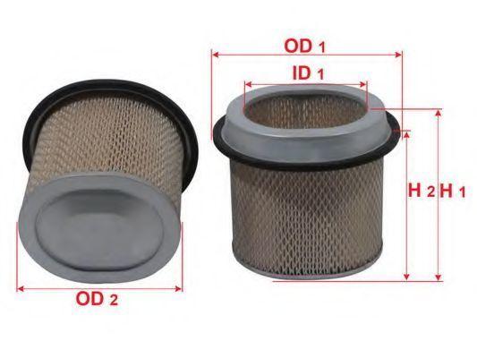 Фильтр воздушный SAKURA A1016