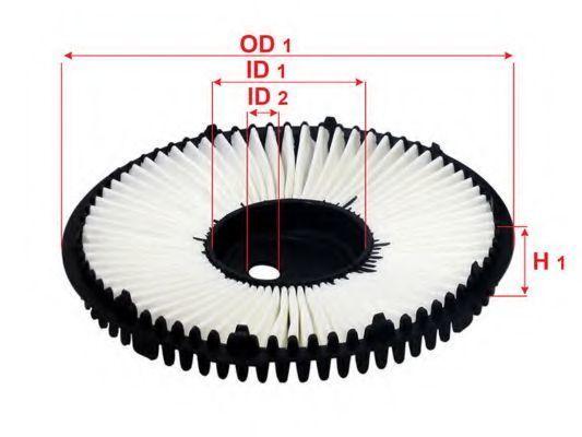Фильтр воздушный SAKURA A1043