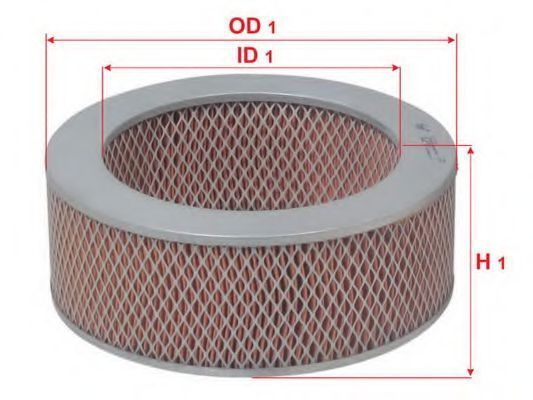 Купить Фильтр воздушный SAKURA A1051