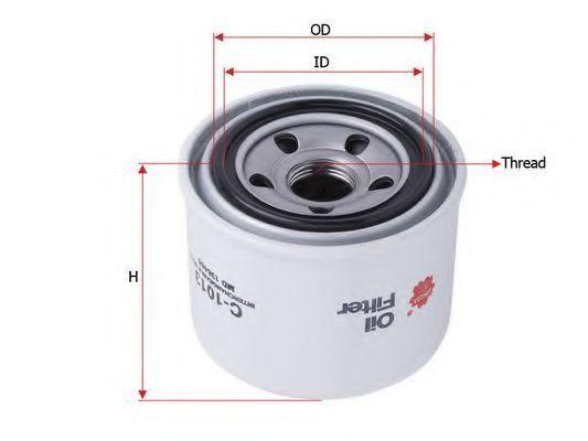 Фильтр масляный SAKURA C-1013