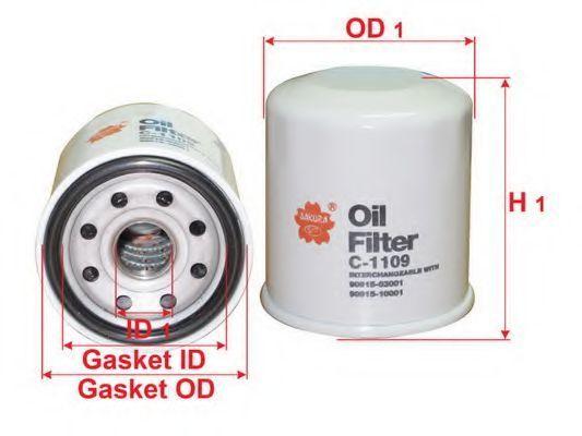 Купить Фильтр масляный SAKURA C1109