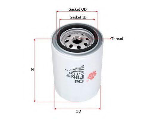 Фильтр масляный SAKURA C1121