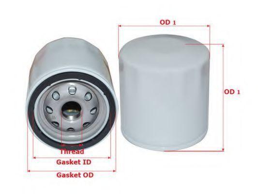 Фильтр масляный SAKURA C1552