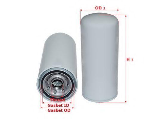 Купить Фильтр масляный SAKURA C5502