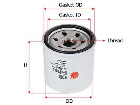 Масляный фильтр SAKURA C65400