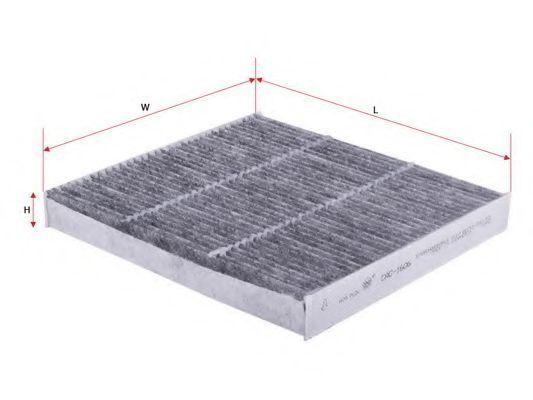 Фильтр салона угольный SAKURA CAC-1606