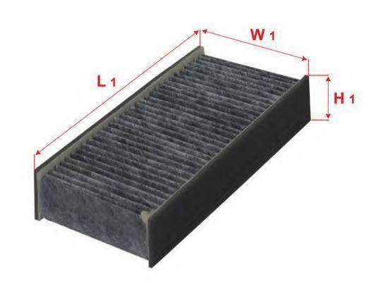Фильтр салона угольный SAKURA CAC1609