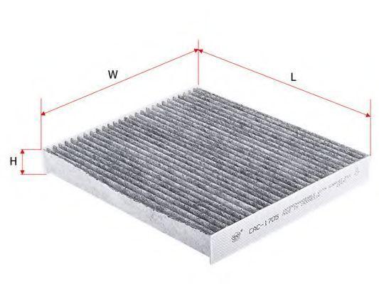 Фильтр салона угольный SAKURA CAC-1705