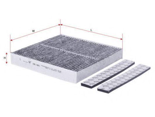 Фильтр салона угольный SAKURA CAC1801