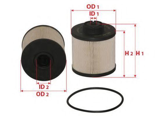Фильтр топливный SAKURA EF-2636
