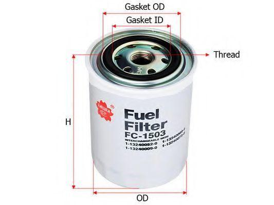 Купить Фильтр топливный SAKURA FC1503