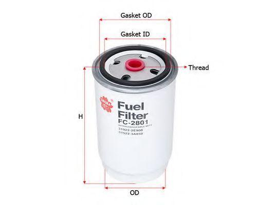 Фильтр топливный SAKURA FC2801