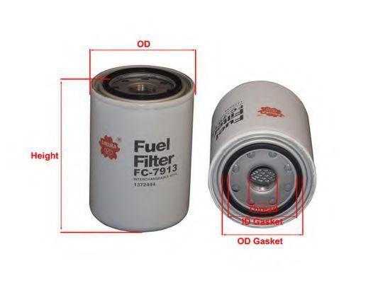 Купить Фильтр топливный SAKURA FC7913