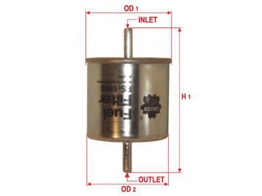 Фильтр топливный SAKURA FS-1906