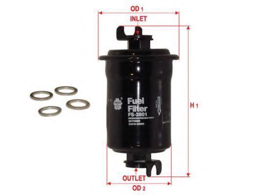 Фильтр топливный SAKURA FS-2801