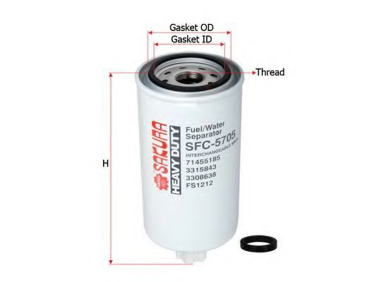 Купить Фильтр топливный SAKURA SFC5705