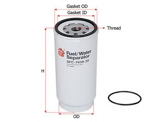 Фильтр топливный SAKURA SFC-7939-30
