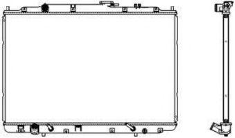 Радиатор охлаждения SAKURA 30711009