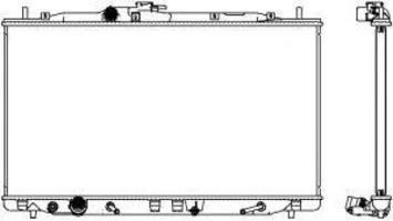 Радиатор охлаждения SAKURA 30718503