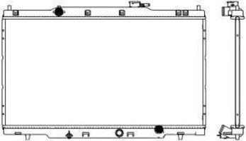 Радиатор охлаждения SAKURA 32111038