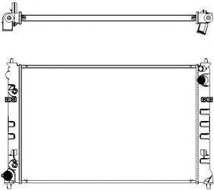 Радиатор охлаждения SAKURA 33011016