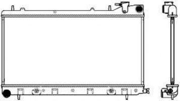 Радиатор охлаждения SAKURA 34211013