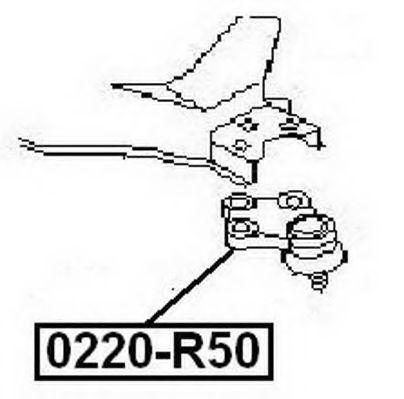 Несущий / направляющий шарнир ASVA 0220R50