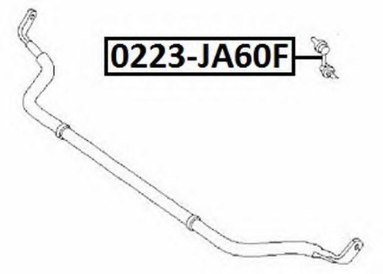 Тяга / стойка, стабилизатор ASVA 0223JA60F