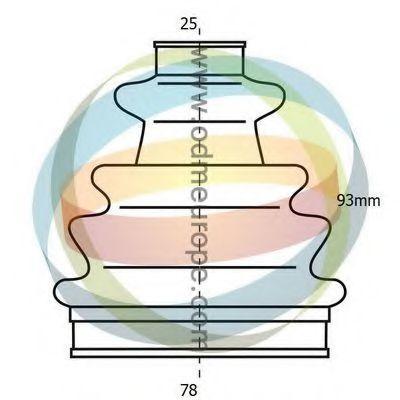 Комплект пылника, приводной вал ODM-MULTIPARTS 21990024