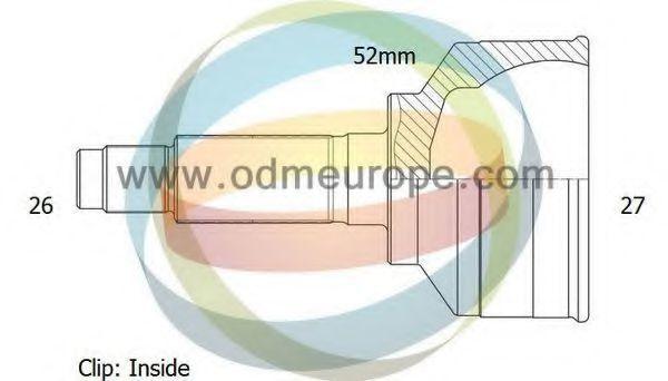 Шарнирный комплект, приводной вал ODM-MULTIPARTS 12040873