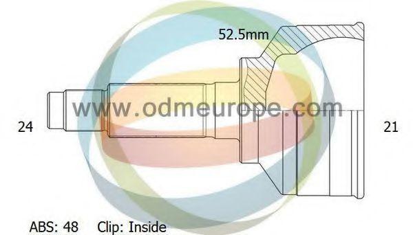 Шарнирный комплект, приводной вал ODM-MULTIPARTS 12080687