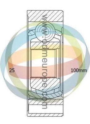 Шарнирный комплект, приводной вал ODM-MULTIPARTS 14346063