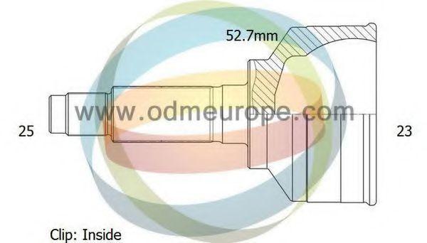 Шарнирный комплект, приводной вал ODM-MULTIPARTS 12291987