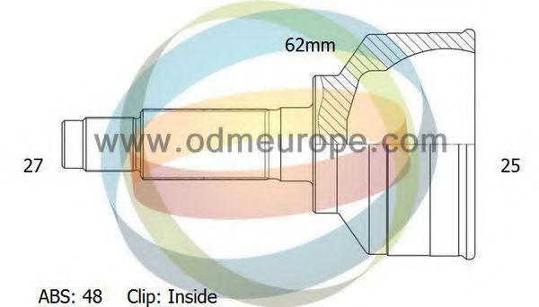 Шарнирный комплект, приводной вал ODM-MULTIPARTS 12080689