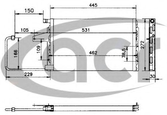 Конденсатор, кондиционер ACR 300164
