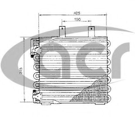 Конденсатор, кондиционер ACR 300192