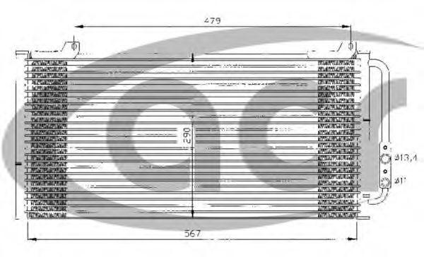 Конденсатор, кондиционер ACR 300376